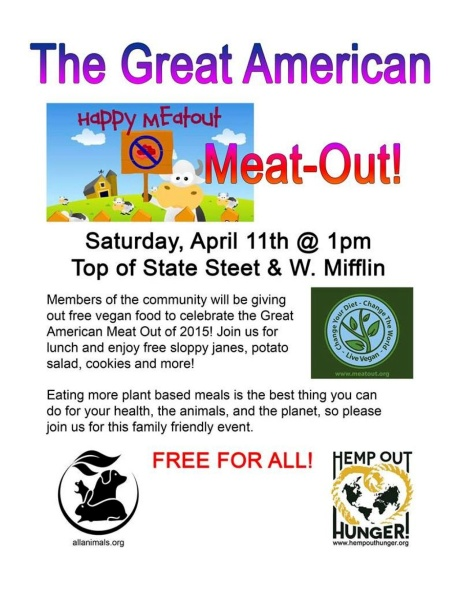 Great American Meat Out 4-11-15