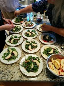 So many salads!