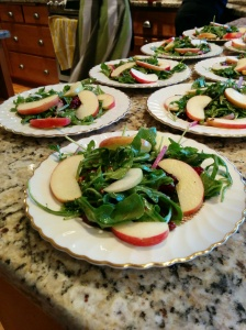 Arugula Apple Salad